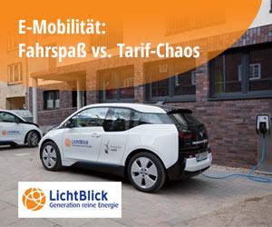 E-Mobilität: Fahrspaß vs. Tarif-Chaos - Lichtblick