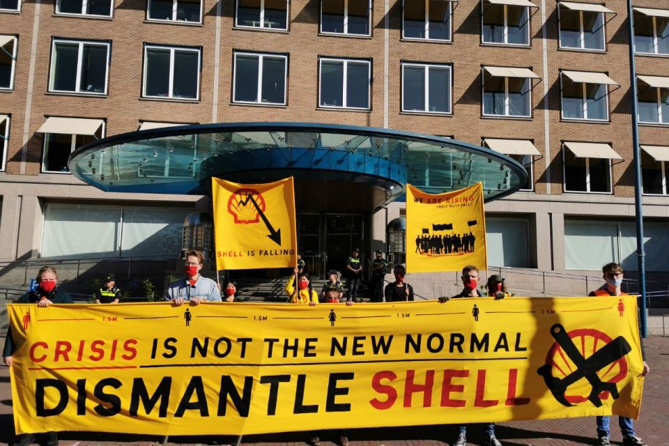 Shell Hauptversammlung