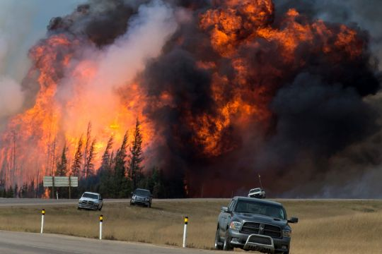 Waldbrand Fort McMurray/Alberta